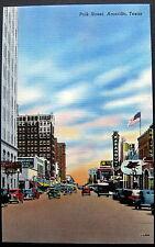 Amarillo Texas ~ 1940's Polk Street ~ Paramount Theatre