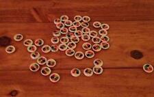 Stock lotto 50 bellissimi bottoni  colorati  diametro 1 merceria