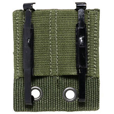 Bundeswehr Modular Belt Mount and Clips - Alice Olive Green Webbing Holster