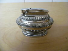 RONSON, SILVER PLATED CIGARETTE LIGHTER. ENGRAVED BIRMINGHAM SCOUT  GROUP 1954