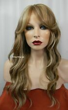 HEAT OK ..LACE FRONT TEASE Wig from Sepia/West Bay  color FS8.27.613 HOT MIX! *
