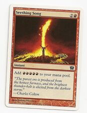 MTG 4X  ** SEETHING SONG ** X4 Magic 9th