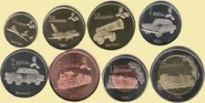 LUGANSK REPUBLIC 2014 set of 8 coins #S26