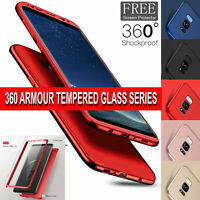 360 Case For Samsung Galaxy A50 UltraThin Shockproof Hybrid Full Body Hard Cover