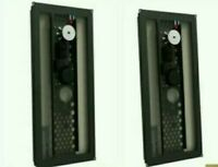 & Pair of Amina AIW350iN-S200 Slimline Invisible Loud Speakers wall Hidden 69:15