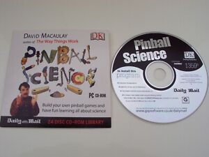 Daily Mail Promo DK Pinball Science PC CD-ROM by David Macaulay