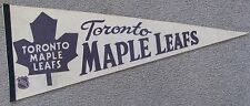 TORONTO MAPLE LEAFS TEAM NHL HOCKEY PENNANT