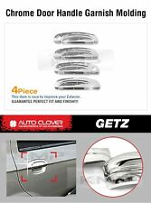 Chrome Door Catch Handle Cover Molding Garnish for HYUNDAI 2002-2012 Getz Click
