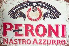 Peroni  new tin metal sign MAN CAVE