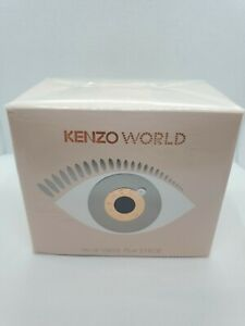 BRAND NEW Kenzo World 75ml Eau De Toilette Woman's Fragrance SPRAY gift present