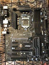 msi b250 pc mate motherboard