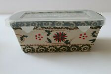 New ListingTemptations Old World Mini Loaf Pan Ovenware with Gift Box New