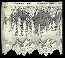 "Heritage Lace Ecru PINECONE Window Valance 60"" W x 16"" L"