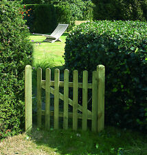 Tanalised! Round Top Picket Gate 90cm x 90cm (3ftx3ft)  RTPG90