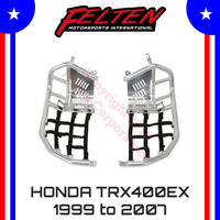 Honda TRX400EX Foot Pegs Nerf Bars w Heel Guards TRX400 TRX 400EX 400 Heal 99-07