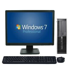 """FAST CHEAP C2D PC COMPUTER 4GB 250GB HDD Windows 7 Pro Complete Set with 19"""" TFT"""