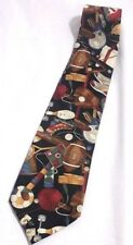 Football/BasketBall  All- Sports Fan/Game Pattern Tie By Beans McGee