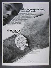 1969 Rado DiaStar Day-Date Watch photo vintage print Ad