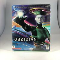 Vintage Obsidian Video Game Windows 95 PC CD ROM