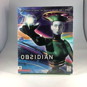 Vintage Obsidian Video Game Windows 95 PC CD ROM
