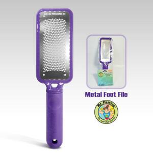 Mr. Pumice Metal Foot File - Purple Large