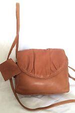 Small GABEE Tan Leather Cross Body/Shoulder Bag / Handbag
