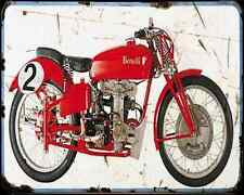 BENELLI 250 39 1 A4 metal sign moto Vintage Aged