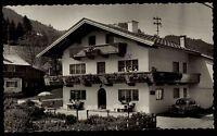 Flatscher Waidring Tirol Österreich s/w Postkarte 1967 gelaufen Pension Hotel
