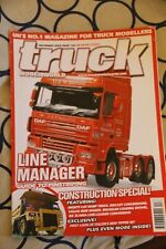 Truck Model World Magazine #156 Dec.09  DAF Volvo Mini Digger