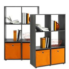 Bücherregal Raumteiler Aktenregal Mehrzweckregal Büroregal R566_6 Silbereiche