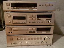 4 teil. Stereoanlage vom Qualitätshersteller Luxman, highend Schmiede für HiFi