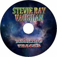 STEVIE RAY VAUGHAN GUITAR BACKING TRACKS CD BEST GREATEST HITS MUSIC PLAY ALONG