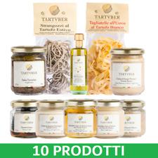 10 PRODOTTI TIPICI AL TARTUFO - Pacco Offerta: Pasta, Salse, Olio, Miele, Burro