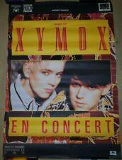 CLAN OF XYMOX Rare Live 80's poster Original 98X68cm 4AD Twist of Shadows tour