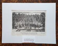 XVII ème - Dépt 92 - Superbe Gravure Vue des Cascades de St Cloud PL 69 - 1670