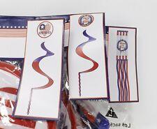 Patriotic Wind Spirals & Wind Socks - New