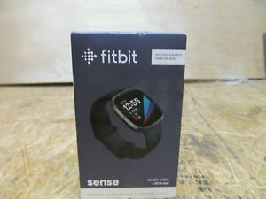 Fitbit Sense Advanced Activity Tracker Smartwatch - Carbon/Graphite ( LOT 237)