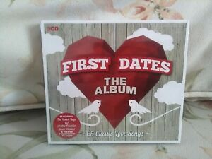 First dates - The Album (2017) - 3-CD - NEW / Sealed- free uk postage