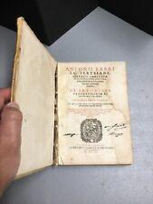 DE ERRORIBUS PRAGMATICORUM ET INTERPRETUM IURIS, Antonii Fabri, 1ST ED, 1609