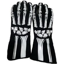 RACING GEAR SKELETON DRIVER SFI3.3/1 NOMEX GLOVES SFI X-LARGE