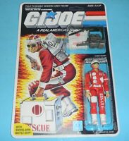 *RECARDED* 1986 GI Joe Lifeline v1 Figure Sealed *CUSTOM File Card Back **READ**