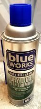 The Blue Works Industrial Grade Dry Lube PTFE Formula spray