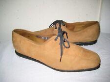 ARCHE Nubuck Brown Oxfords Shoes Women's Size 37 / 6.5
