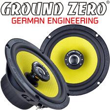 Ground Zero GZTF 16 16,5cm 2 Wege 165mm Koax Lautsprecher Paar inkl. Gitter