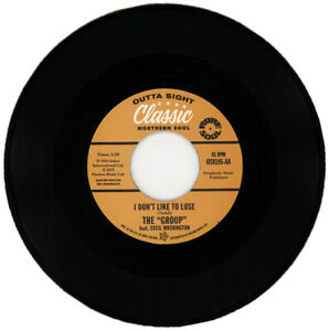 """THE GROUP  featuring CECIL WASHINGTON  """"I DON'T LIKE TO LOSE""""  NORTHERN SOUL"""
