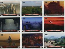 Star Wars Galactic Files Reborn Complete Locations Chase Card Set L1-10