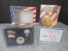 New Limited Edition USA Olympic Centennial 3 Lapel Pin Set 1896-1996 100 Years