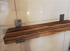 Shelf-Scaffold Board Rustic Shelves Industrial Solid Wood Brackets Vintage SIZES