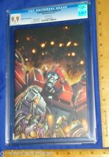 CGC 9.9 (WOW)Transformers Ironhide #2 Variant/Dealer Incentive Edition White Pgs