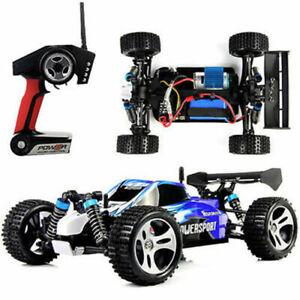 Speed Radio Remote Control Electric RC Car Toys RTR 1:18 4WD Wltoys Vortex 50km